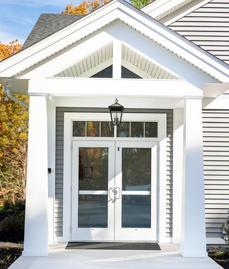 Front door of Northborough Family Dental